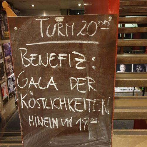 #Gala der Köstlichkeiten #Toller Abend – Tolle Künstler Markus Linder und Hubert Trenkwalder, Ute Heidorn, die Stubaier Freitagsmusig, Uli Bree, Juliana & Siggi Haider und die Ohrenschmalzler @Treibhaus Innsbruck- 2019